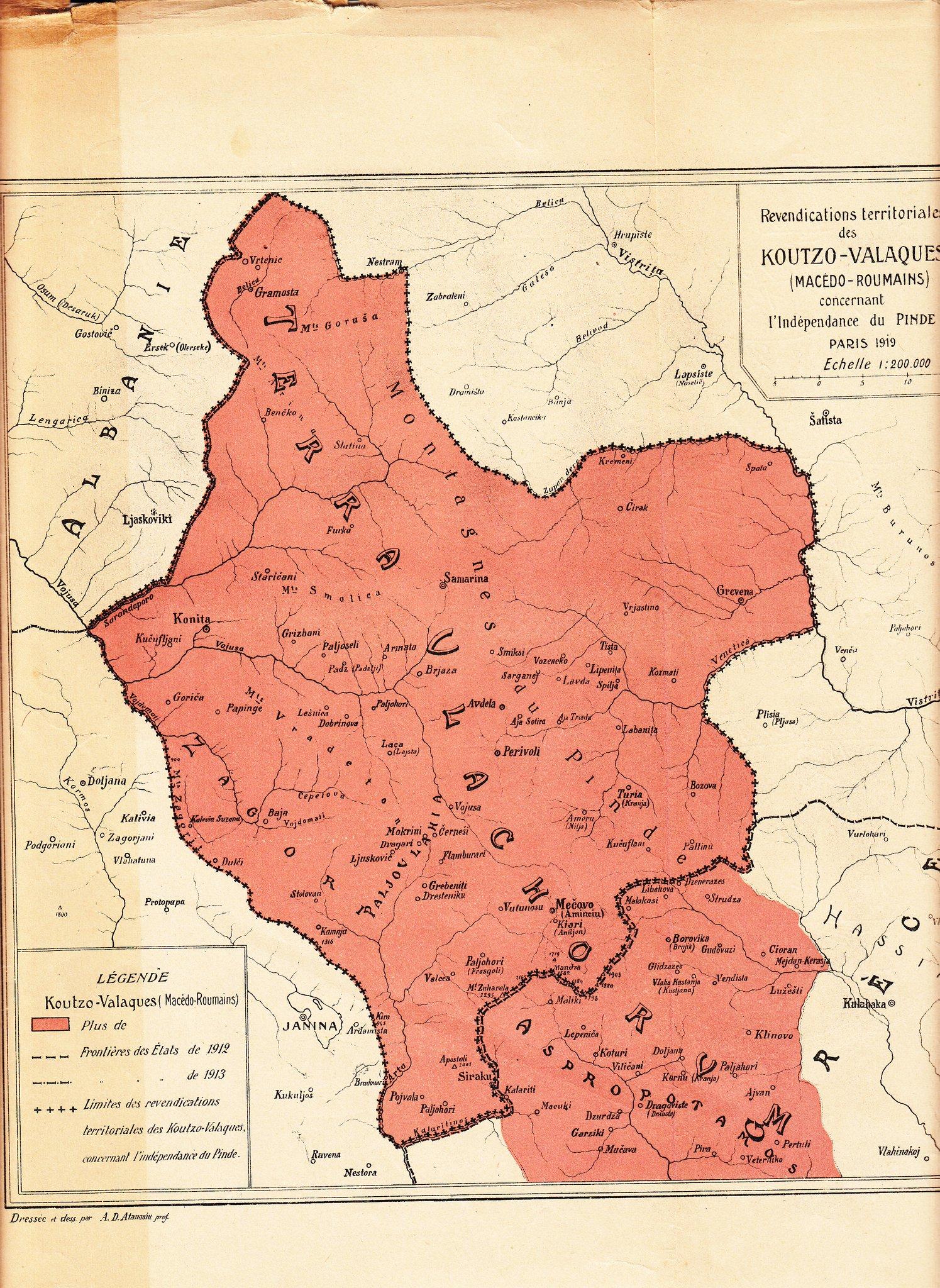 Stato aromuno proposto a Parigi nel 1919