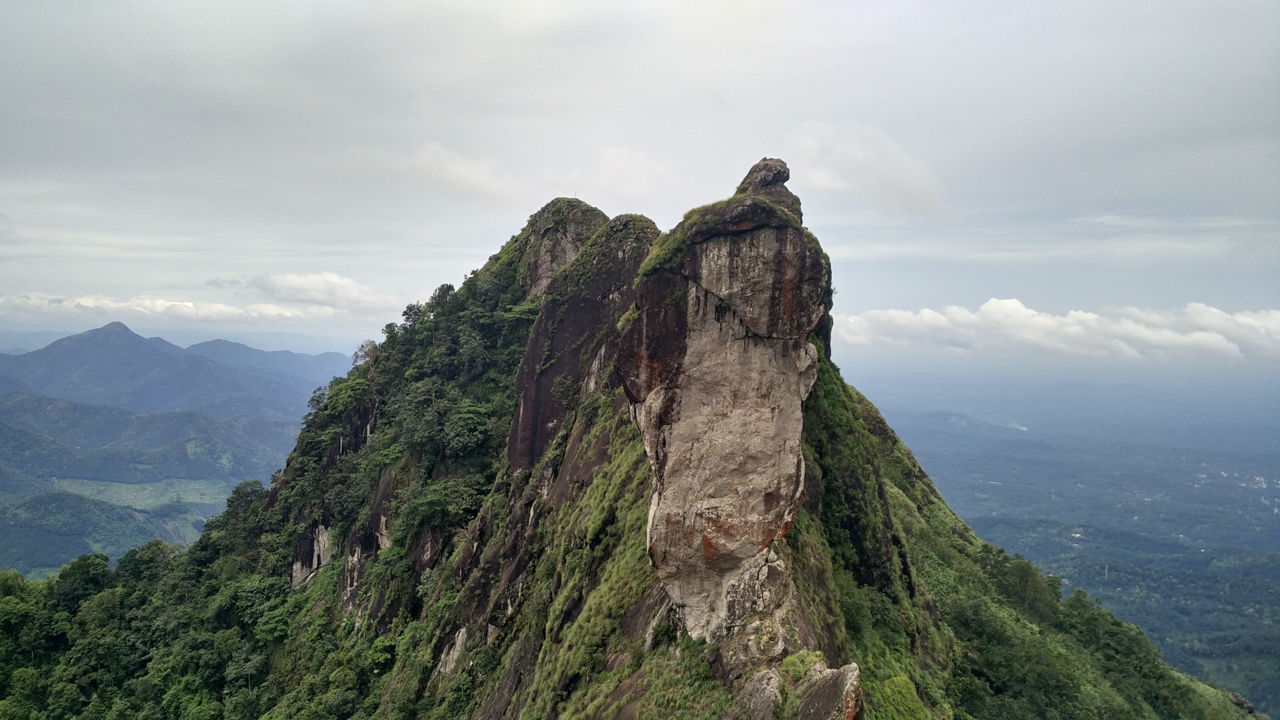 Peaks in Bhor Ghat