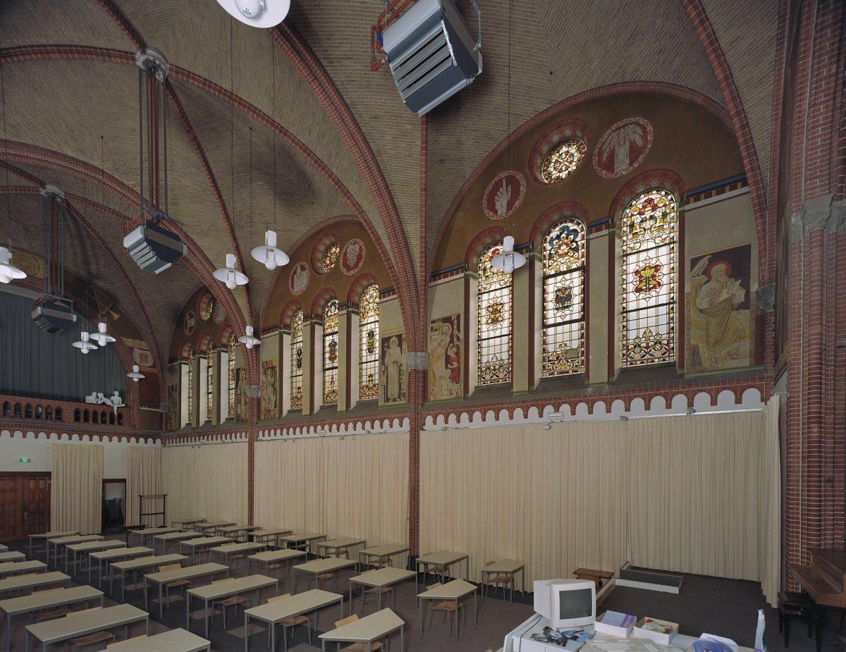 File interieur kapel overzicht naar het noorden for Interieur 996