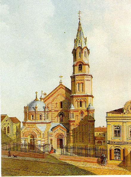 Никольская церковь, Вильнюс