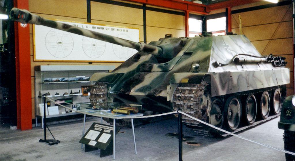 Char allemand Jagd Panther WW2