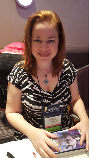 Frost at the Romance Writers of America Conference, July 2015, New York, NY