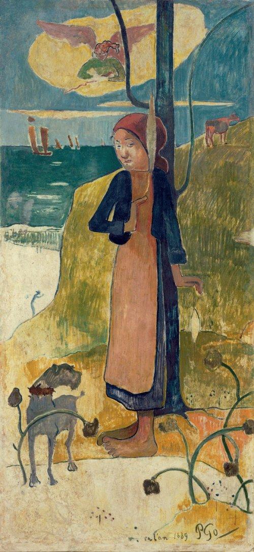 Жанна д'Арк» (Поль Гоген, 1889)