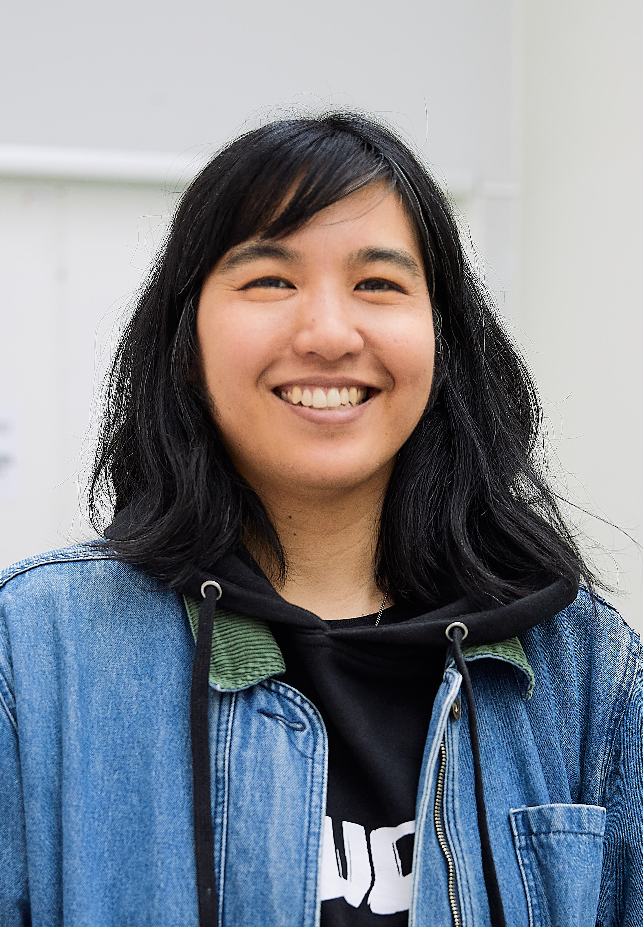 Jillian Tamaki at the 2019 Stockholm international comics festival.