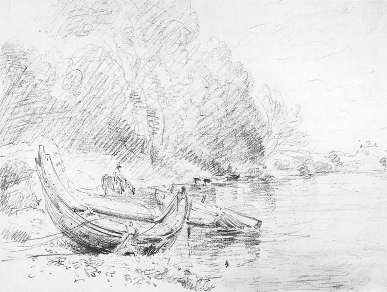 John Constable Drawings File:john Constable View on
