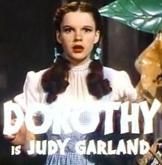 English: Screenshot of Judy Garland in The Wiz...