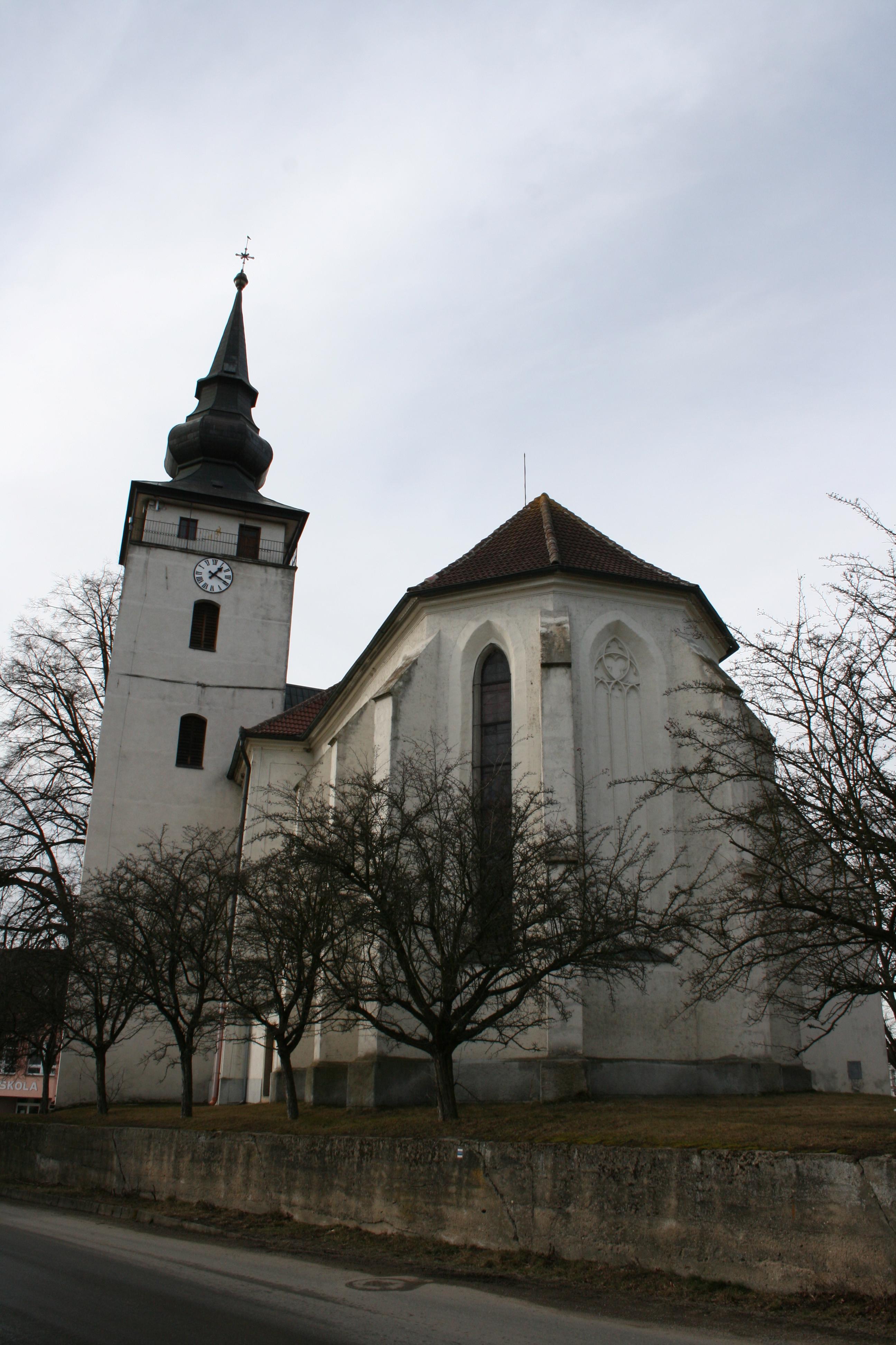 kostel svatého Jana Křtitele v Kardašově Řečici