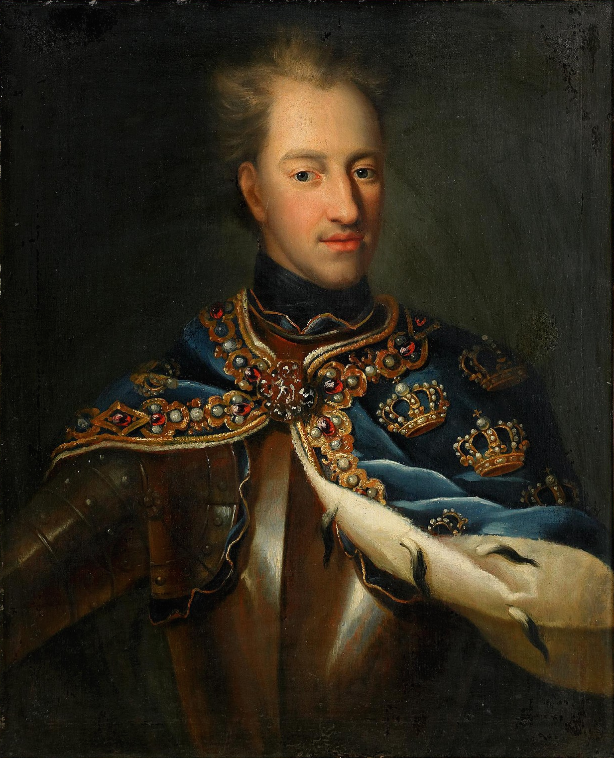 king charles xii And a sample taken from the bloodstained gloves that charles xii wore on his last night revealed an identical sequence the king, it seems, belonged to that same tiny group of swedes as.