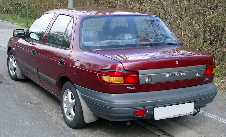 1997 kia sephia ls sedan 1 8l manual rh carspecs us Kia Spectra Kia Spectra