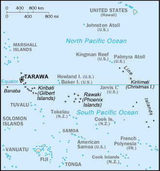 Miasta Kiribati Wikipedia wolna encyklopedia