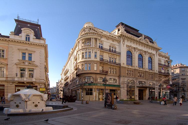 Ulice Beograda , istorija i zanimljivosti KnezMihailova_ped