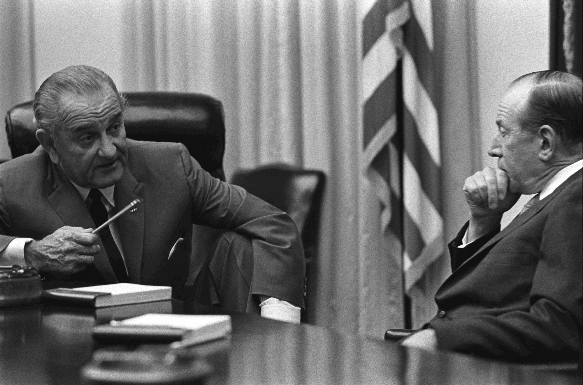 Image result for lbj abe fortas