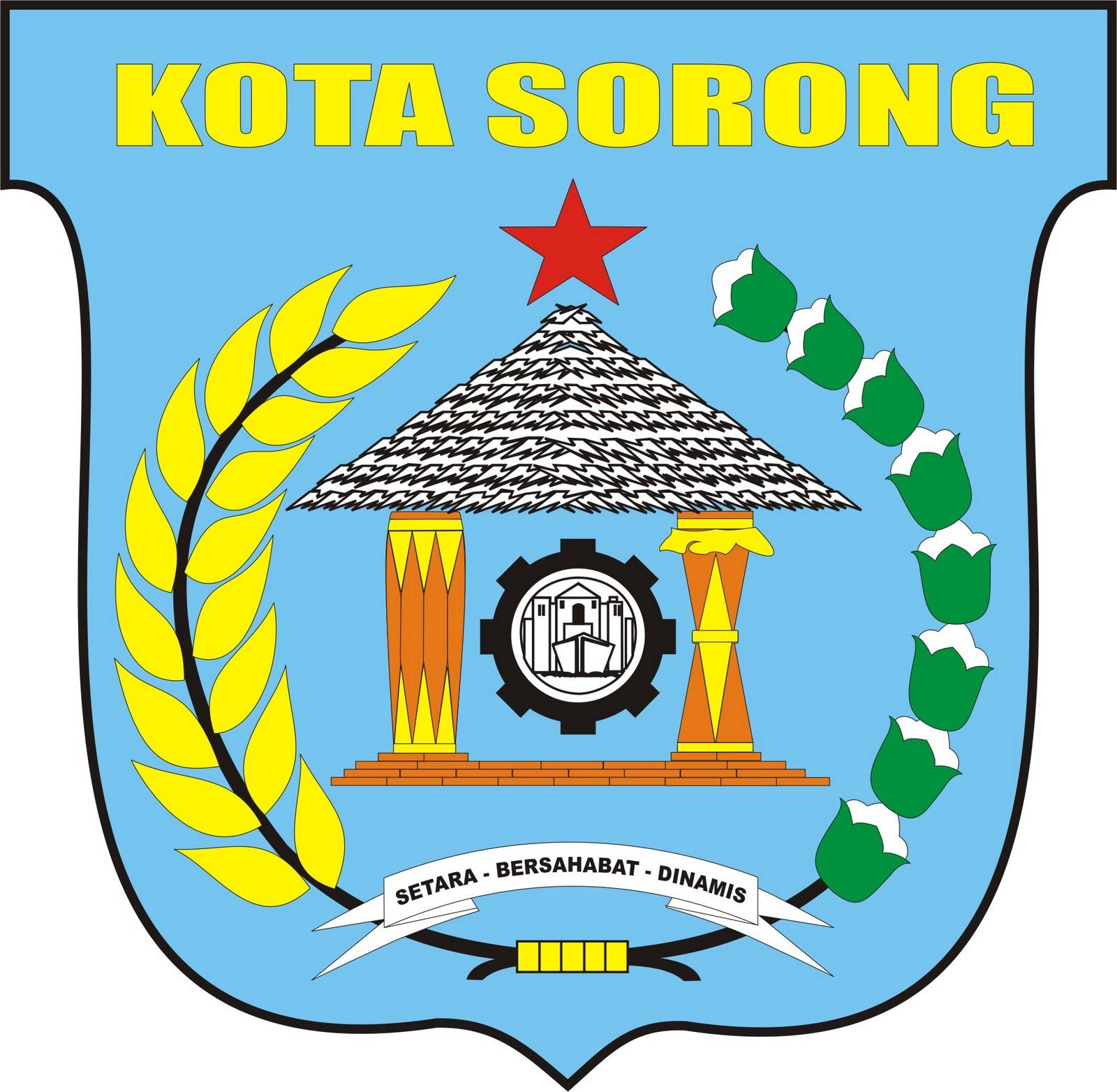 Berkas Lambang Kota Sorong Jpg Wikipedia Bahasa Indonesia Ensiklopedia Bebas