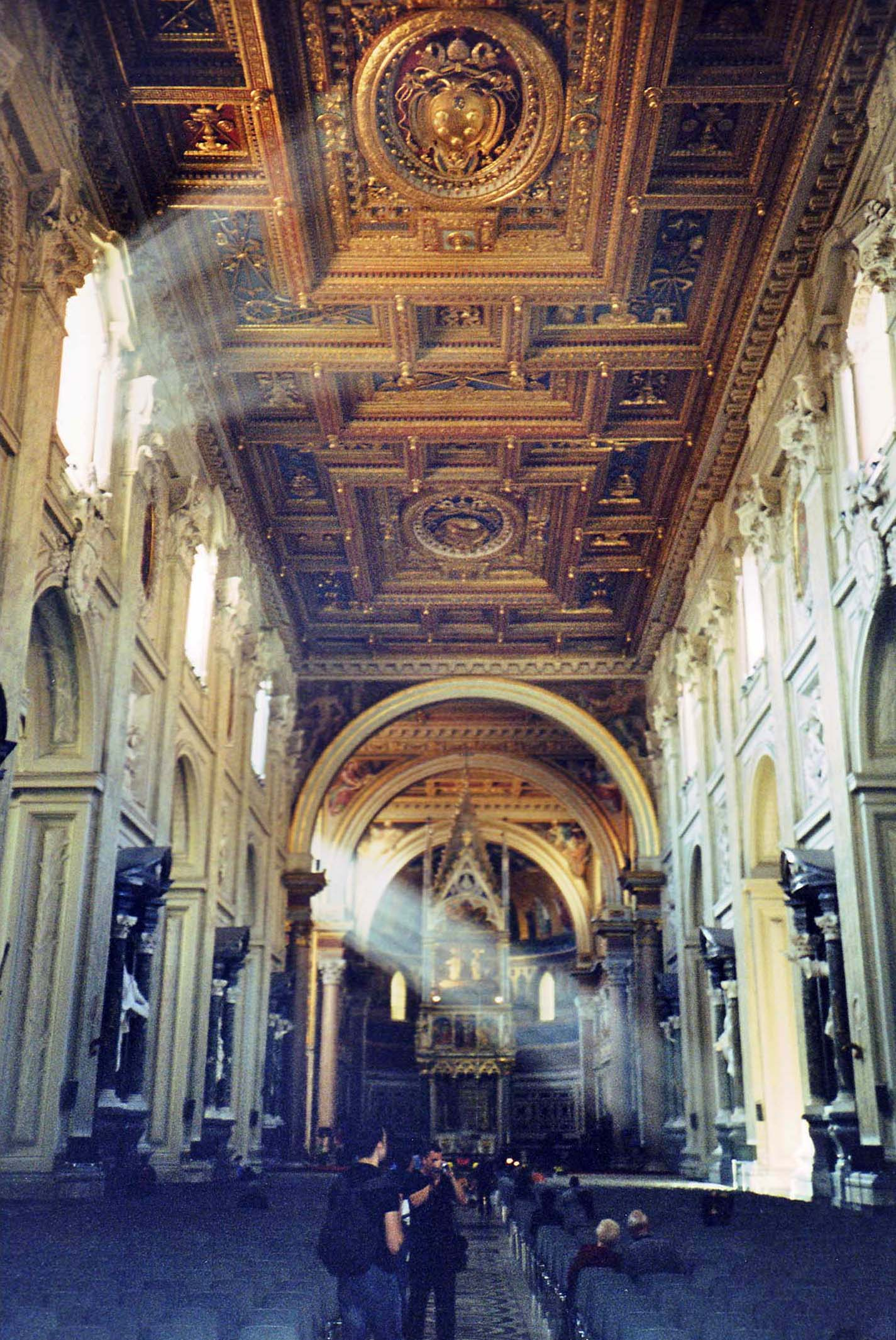 The nave of San Giovanni in Laterano