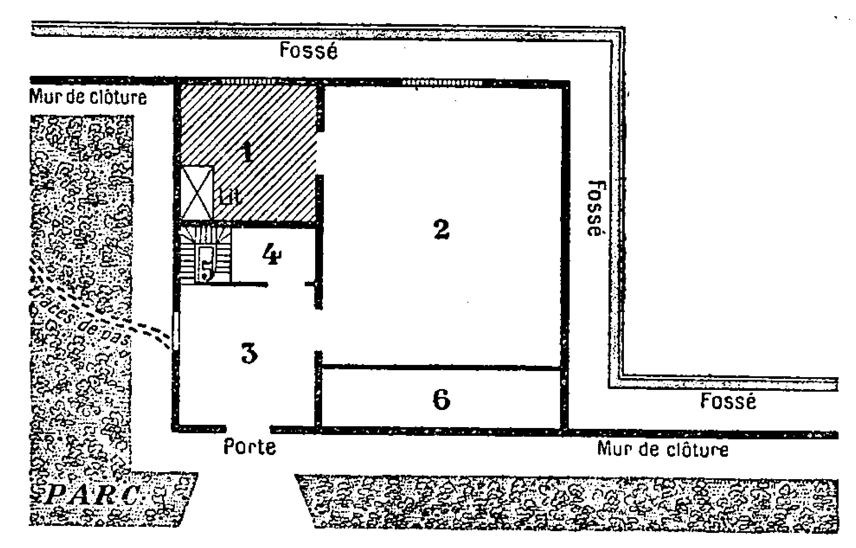 Fichier leroux le myst re de la chambre jaune 1932 - Le mystere de la chambre jaune personnages ...