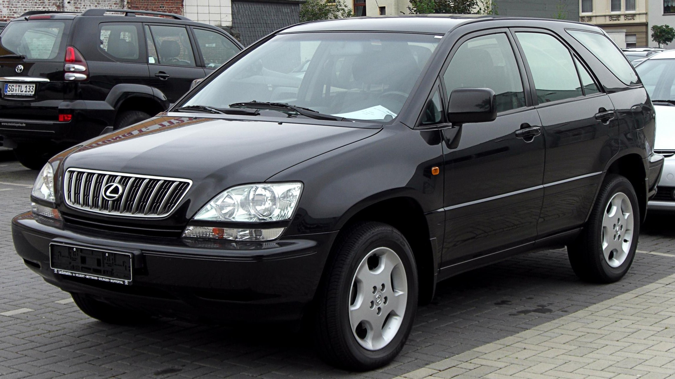 File Lexus Rx300 Front Jpg Wikimedia Commons