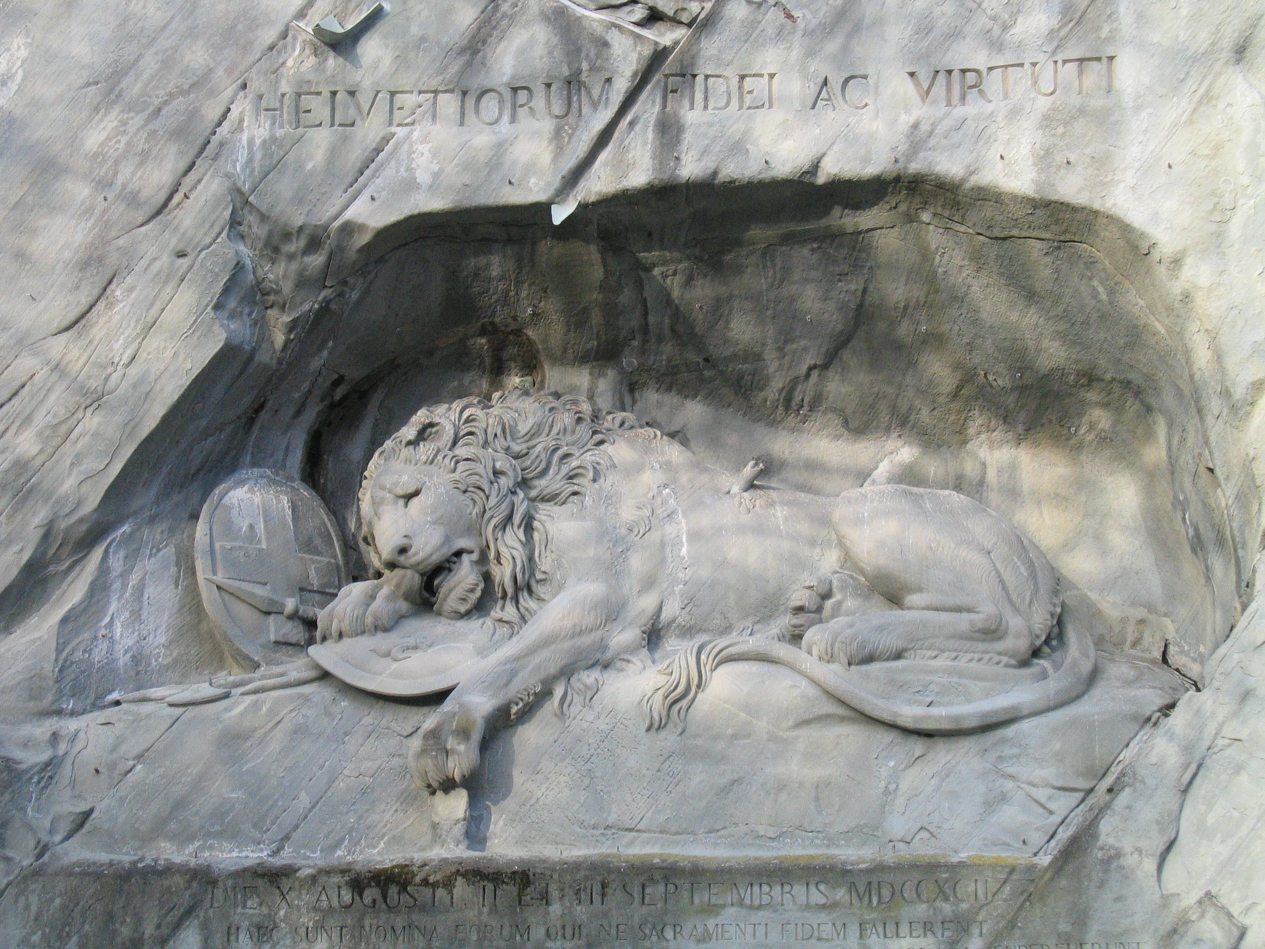 The Dying Lion, Lucerne