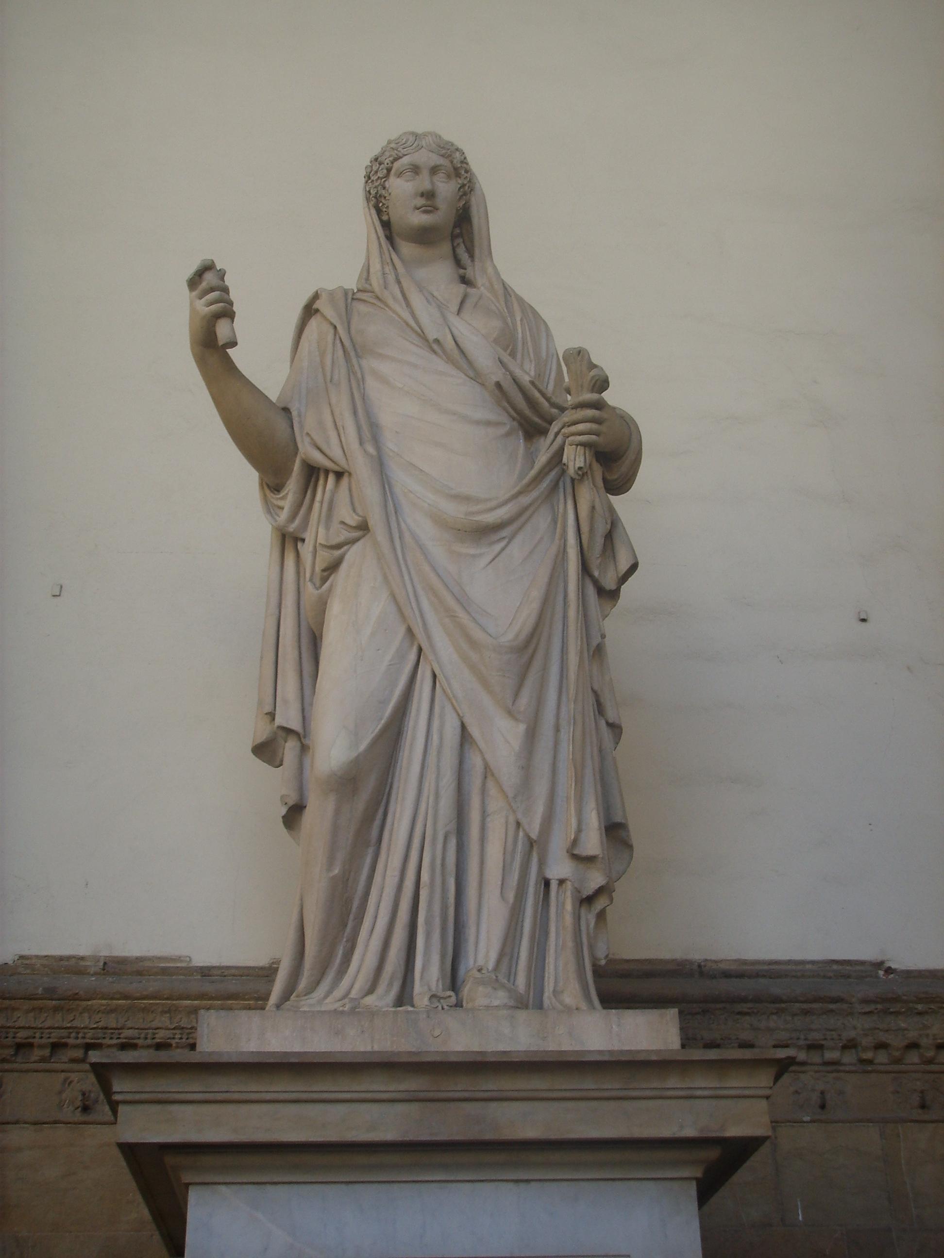 Firenze, Loggia dei Lanzi, Julia Agrippina Minor