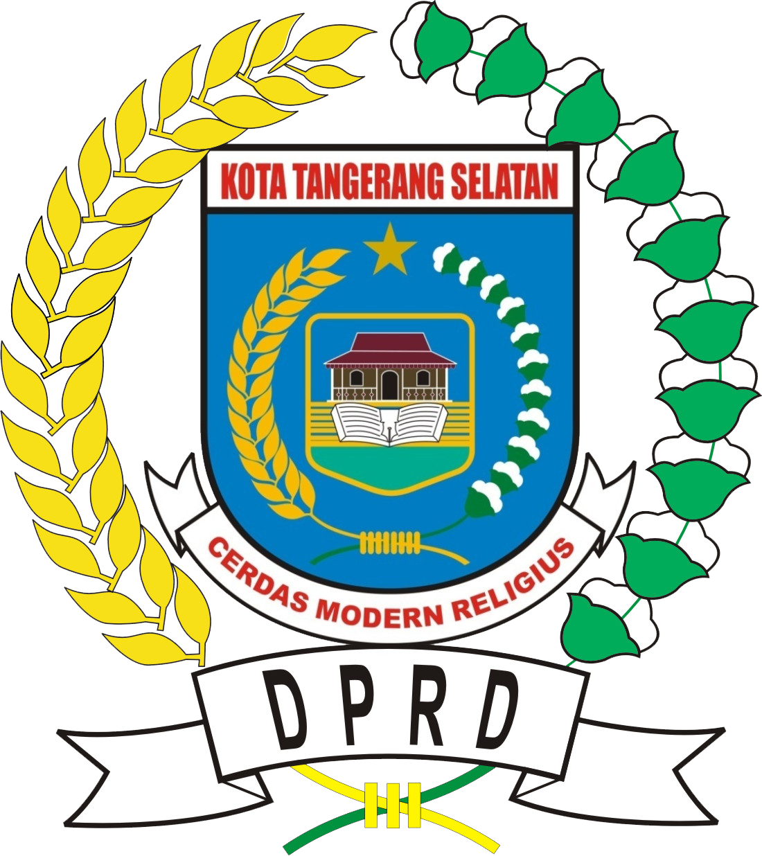 Berkas Logo Dprd Kota Tangsel Png Wikipedia Bahasa Indonesia Ensiklopedia Bebas