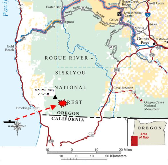 Brookings Oregon datant