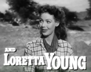 Ficheiro:Loretta Young in Along Came Jones trailer.jpg