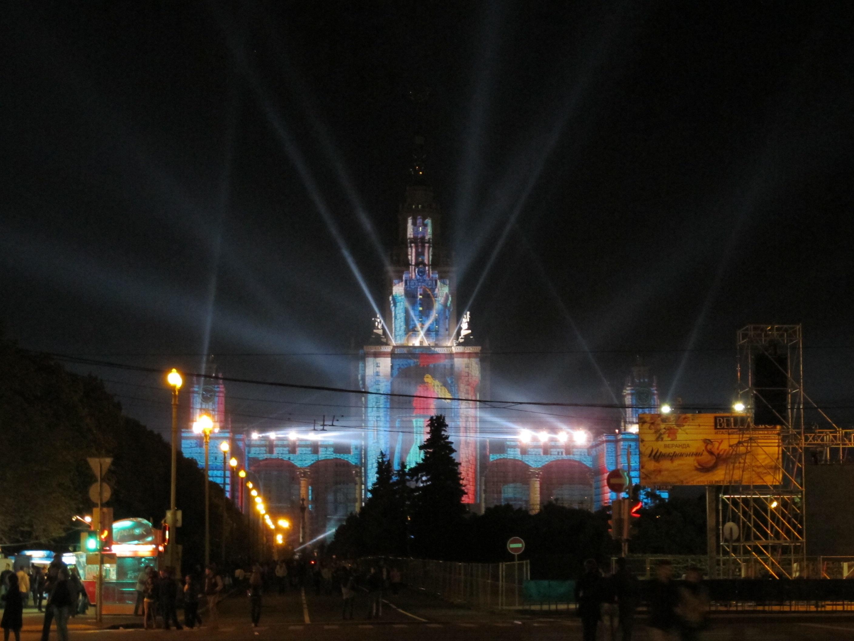 Night light wikipedia - File Main Building Of Moscow State University Night Light Show Jpg