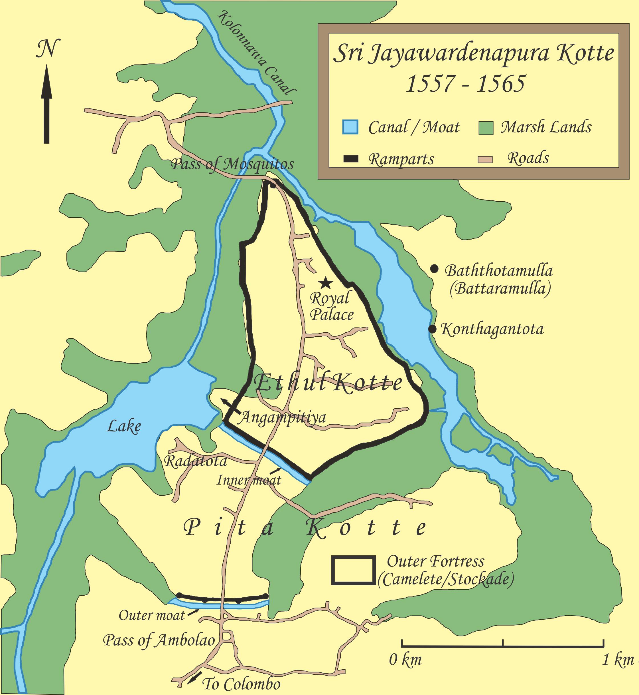 Sri Jayawardenapura-kotte Map | Maps