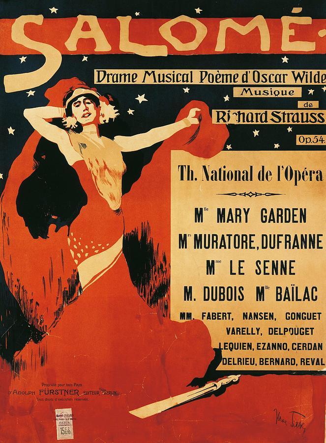 Plakat, Entwurf: Max Tilke (1910)