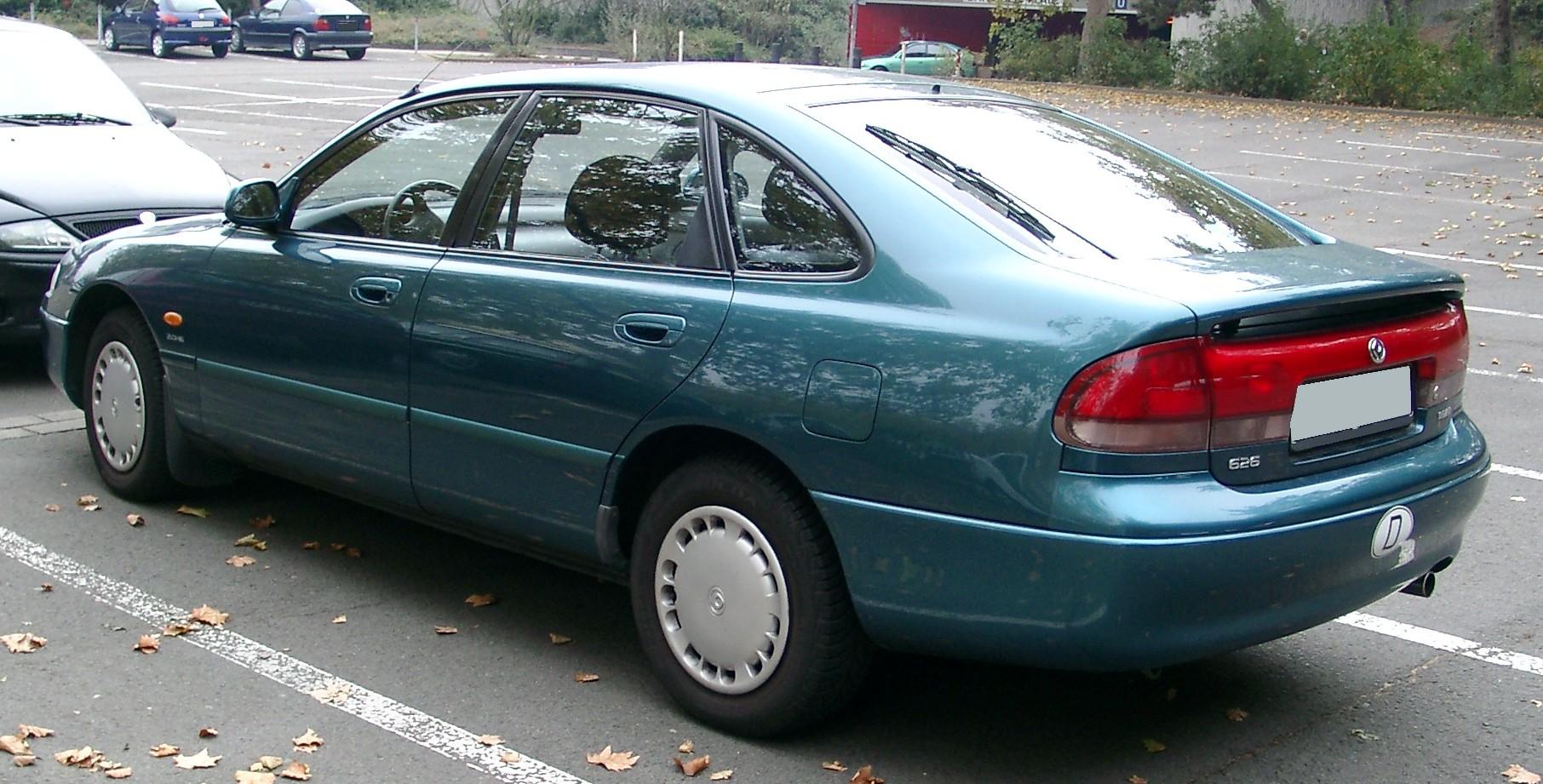File:Mazda 626 rear 20071102.jpg
