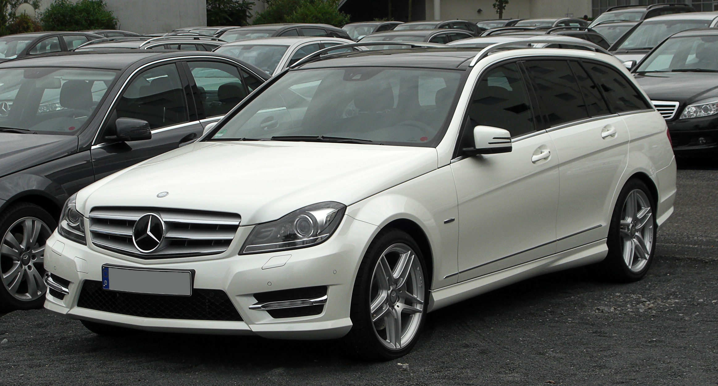 Mercedes benz c 350 blueefficiency t modell for Mercedes benz avantgarde
