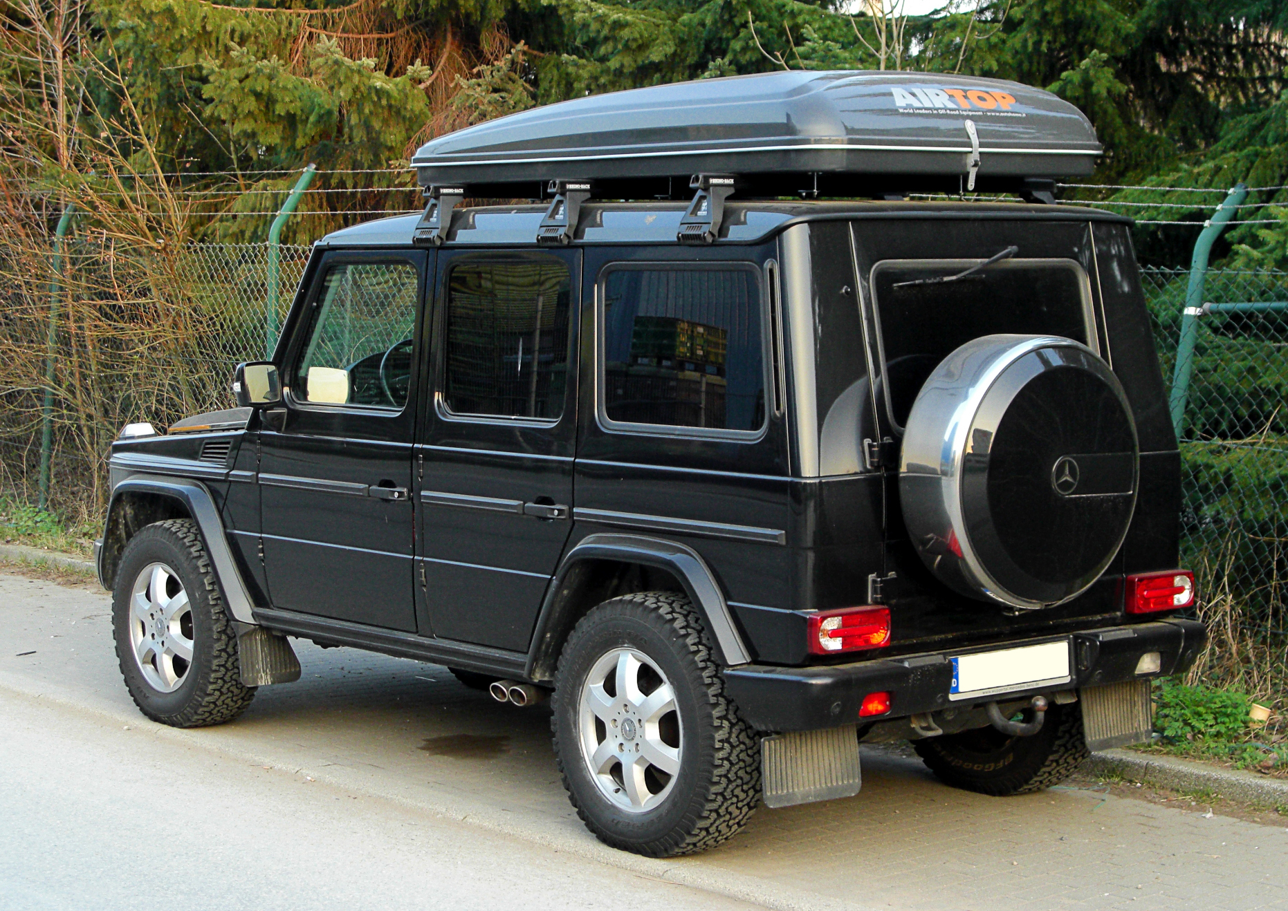 Description Mercedes-Benz G 320 CDI (W 463, Facelift) – Heckansicht ...