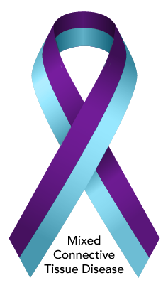 Mixed Connective Tissue Disease (MCTD) Awareness Ribbon.png