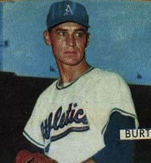 Moe Burtschy American baseball player