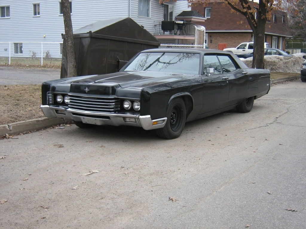 File Murdered Out Gangster Styled 1970 Lincoln