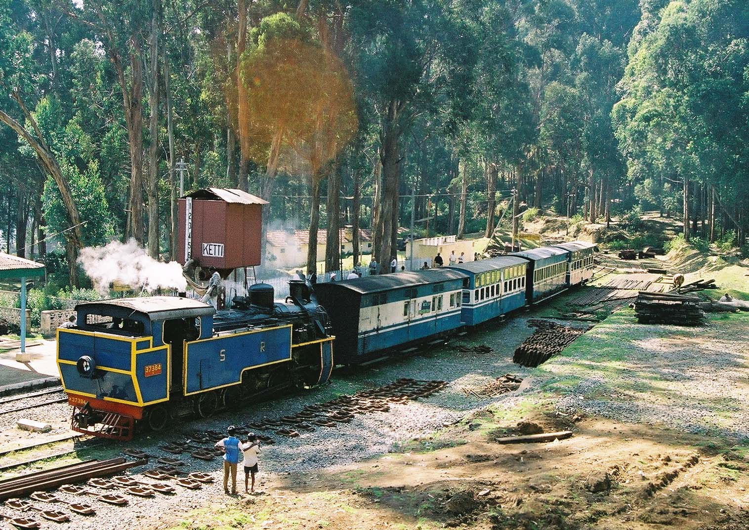 The Nilgiri Passenger at Ketti Railway Station