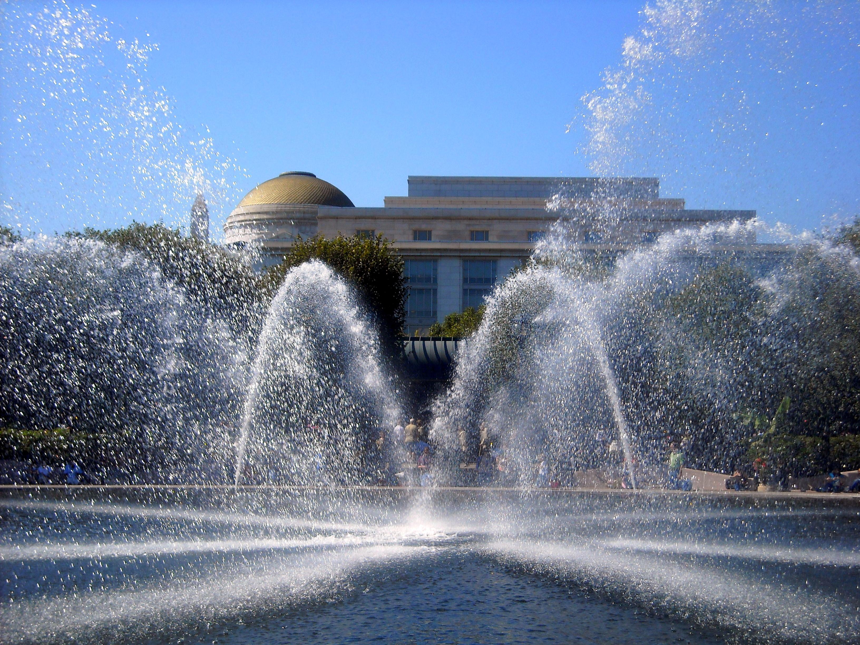 National Gallery of Art Sculpture Garden Fountain