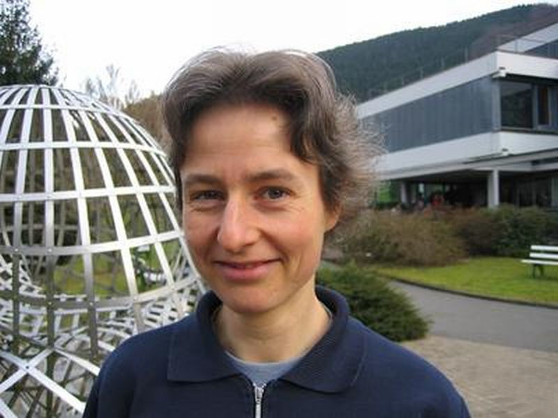 Gabriele Nebe at the [[Mathematical Research Institute of Oberwolfach]], 2005