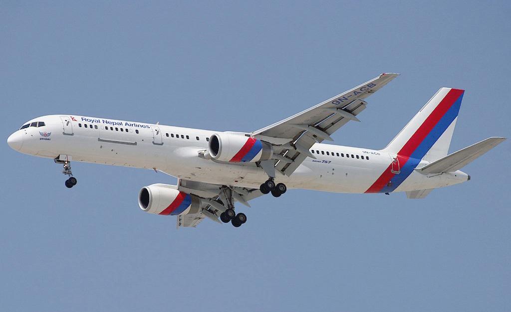 File Nepal Airlines Boeing 757 2f8m Wedelstaedt Jpg