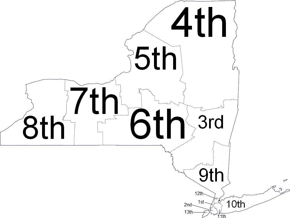 Map Of New York District Courts.File New York Judicial Districts Png Wikimedia Commons