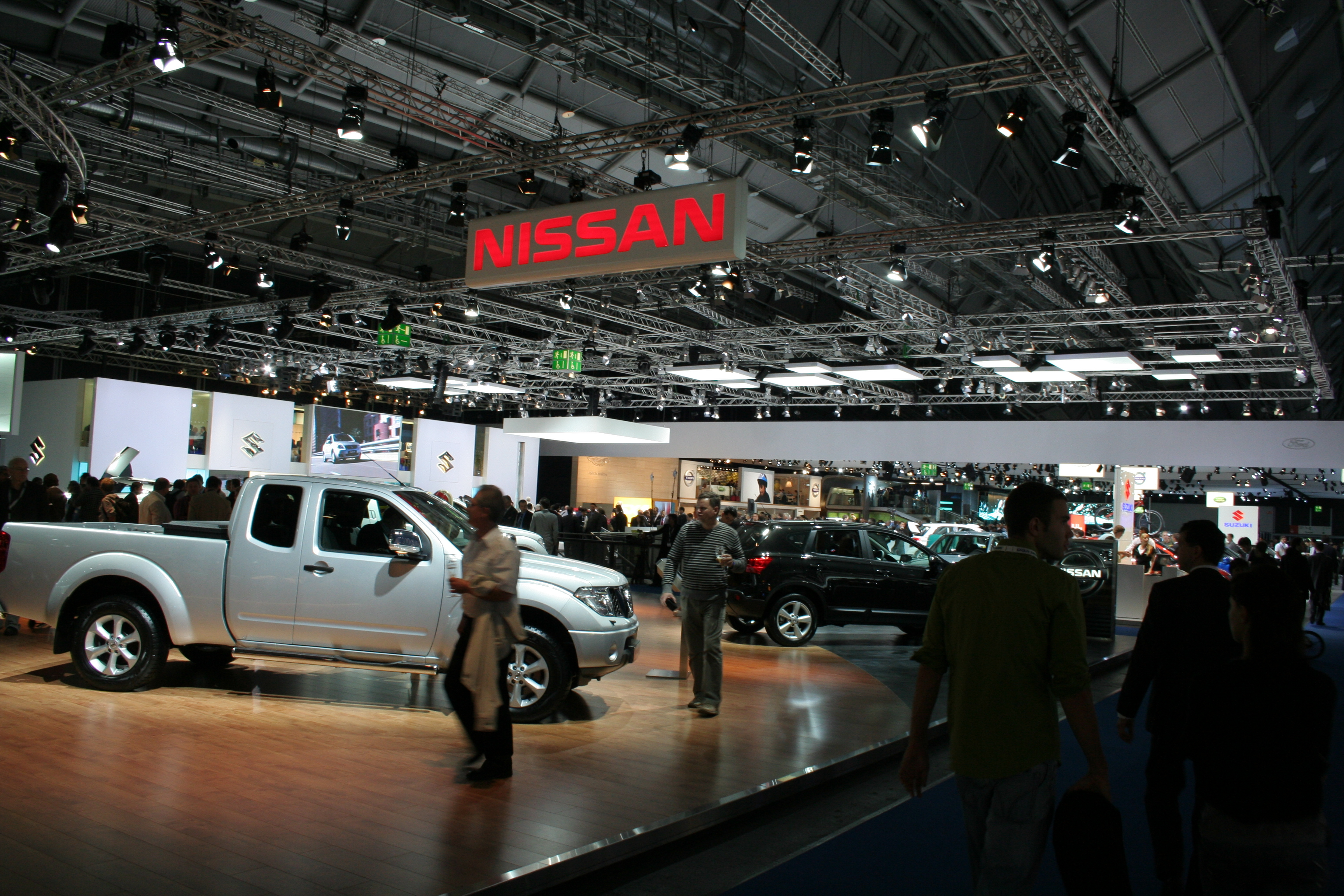 file nissan stand iaa wikimedia commons. Black Bedroom Furniture Sets. Home Design Ideas
