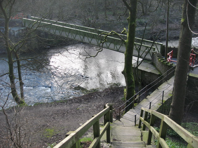Nuttall Park Footbridge - geograph.org.uk - 358962