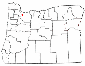 Loko di Johnson City, Oregon
