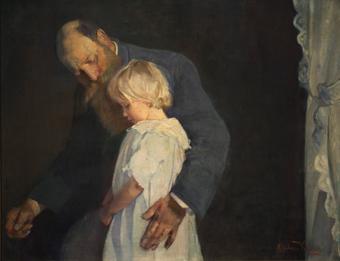 Oda krohg stakkelse lille 1891