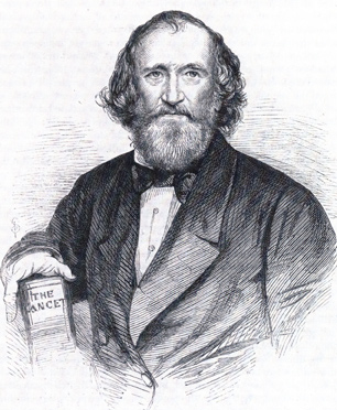 Wakley in old age. Illustrated London News 1862 Old Wakley72.jpg