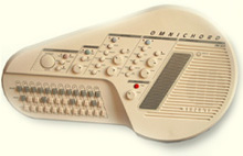 Omnichord electronic musical instrument (introduced1981)