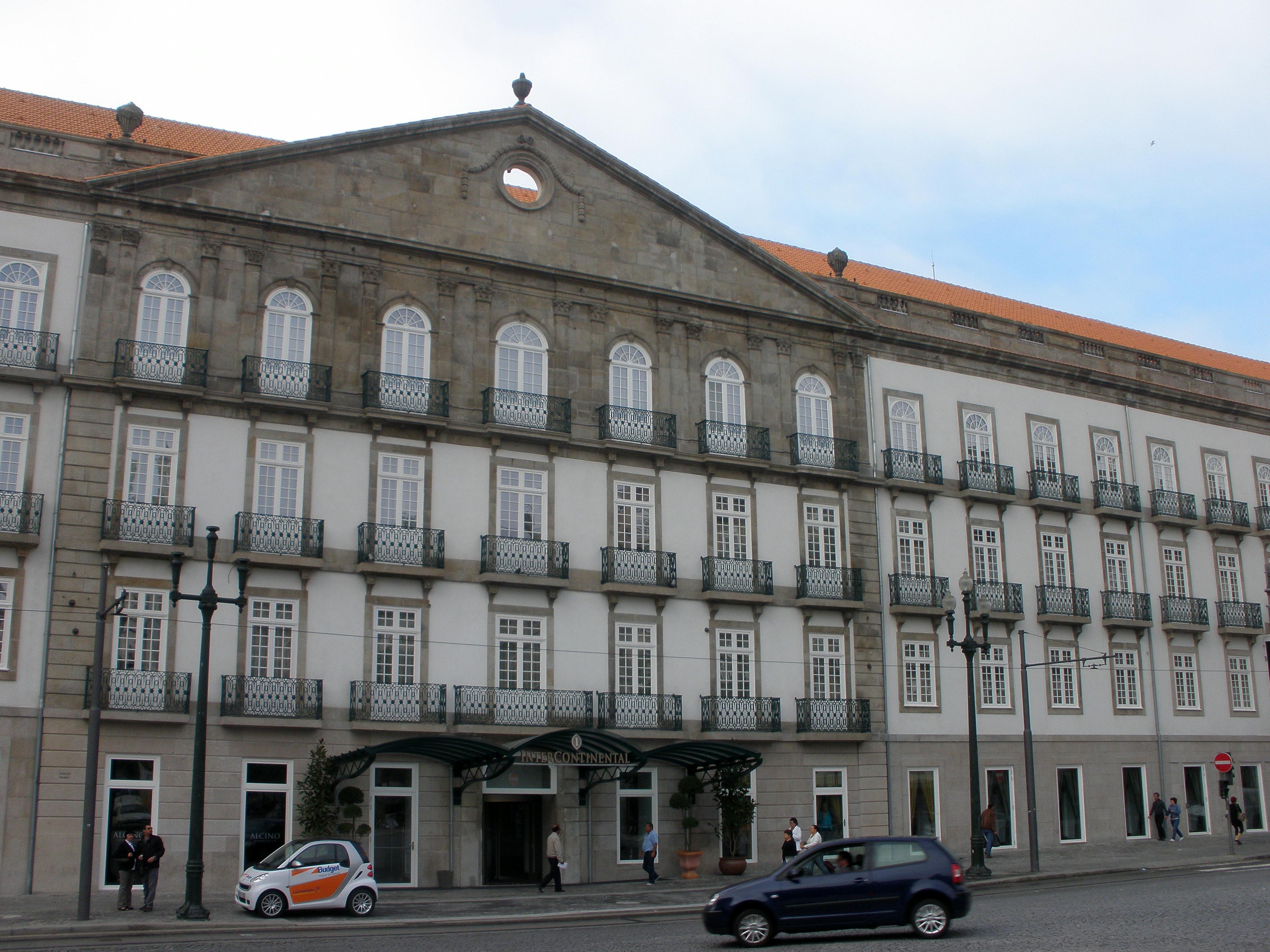 File palacio cardosas porto jpg - Hotel intercontinental porto ...
