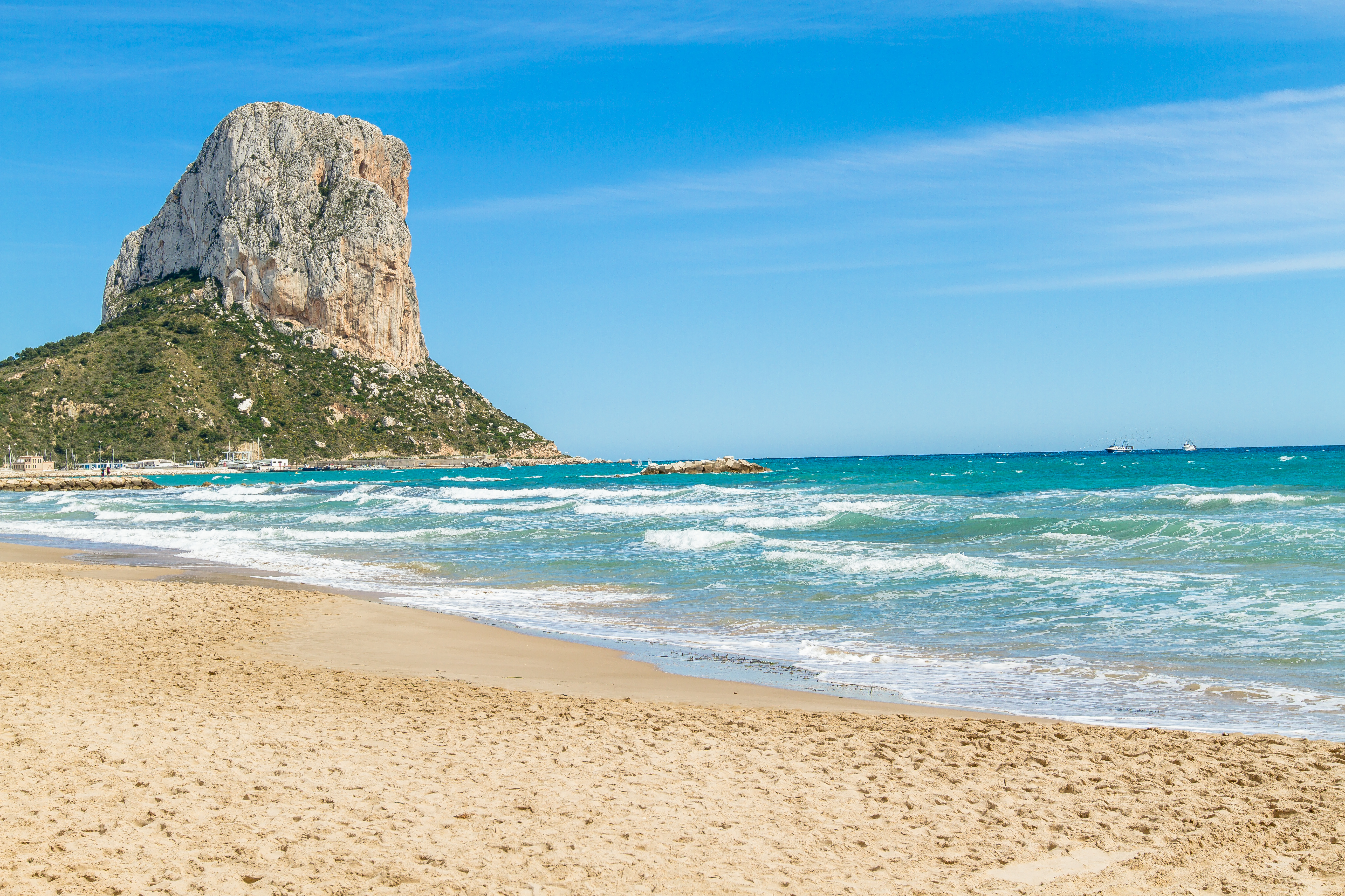 Calpe Spain  city pictures gallery : Peñón de Ifach Calpe Spain Wikimedia Commons