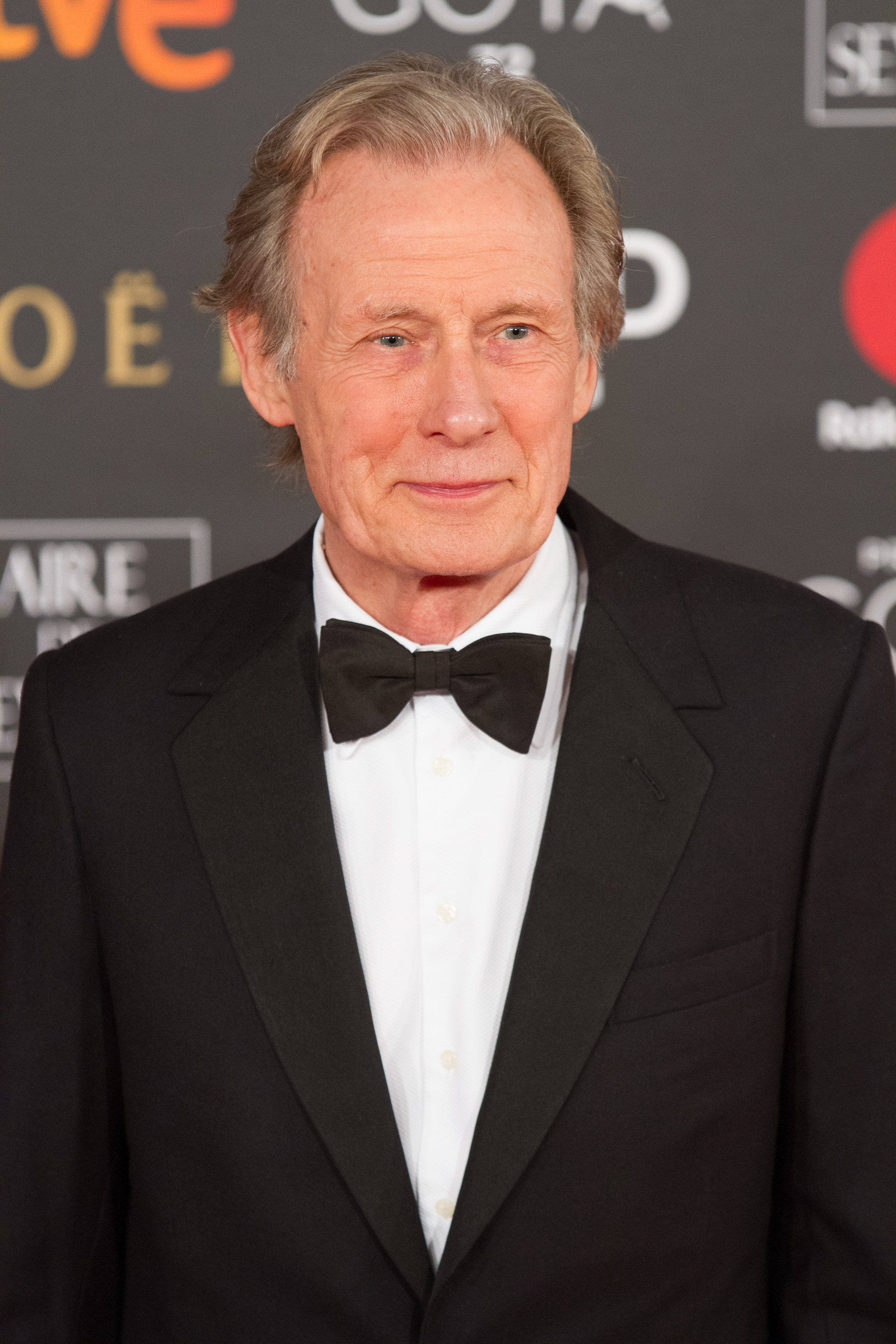 Nighy at the [[32nd Goya Awards]] in February 2018