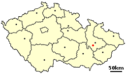 Prostějov Czech town - location.png