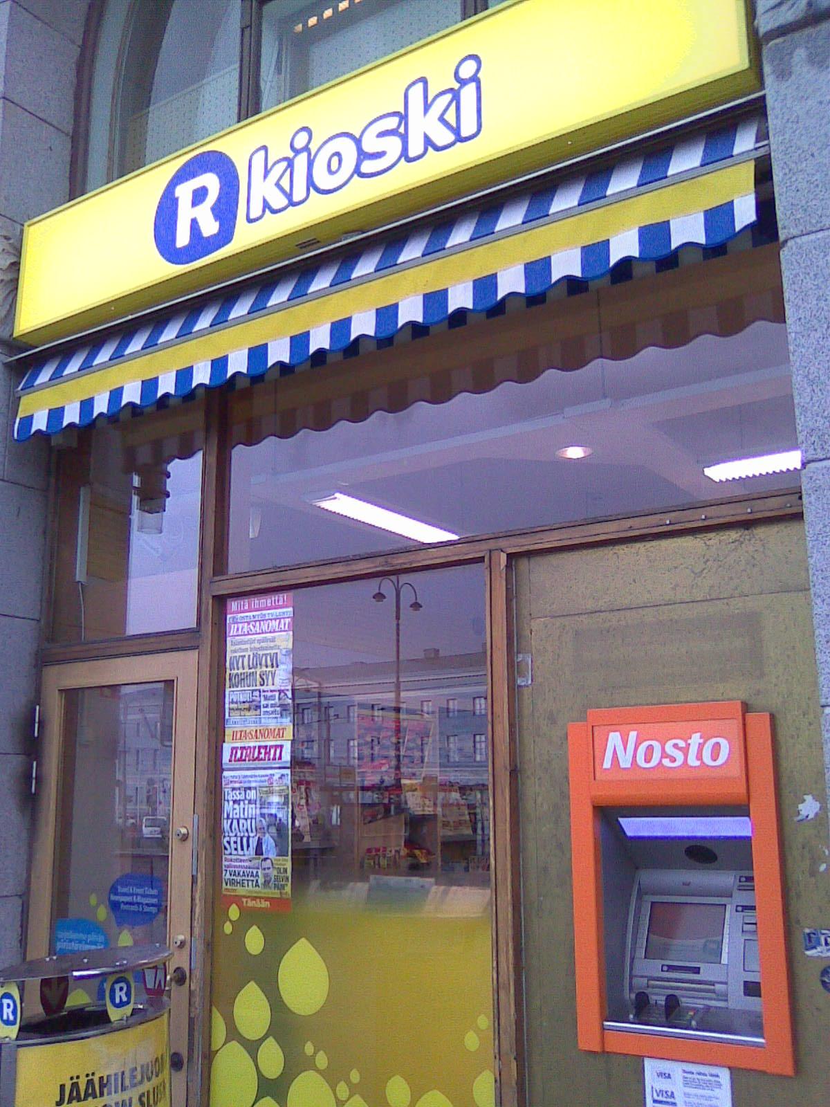 R Kioski Sörnäinen